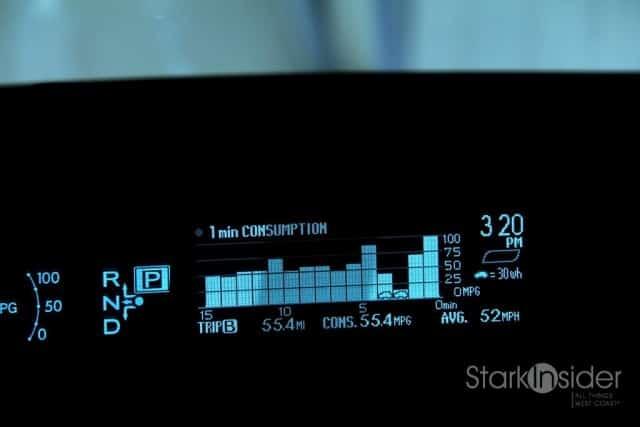 Toyota Prius Multi-Information Display