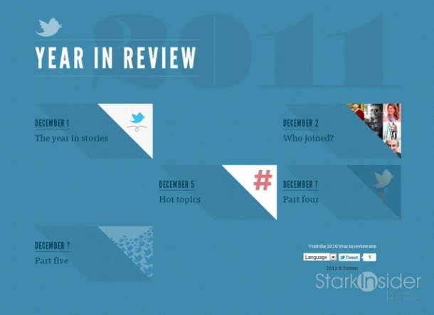 Twitter 2011 Year in Review