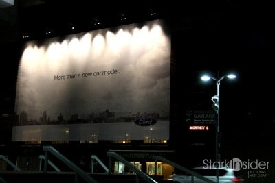 Ford is first up at the 2012 NAIAS with a 25 minute presentation at Joe Louis Arena, home to the Detroit Red Wings.