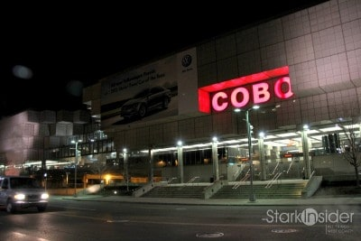 COBO Center - calm before the storm.