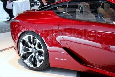 Lexus LF-LC Hybrid Supercar Concept