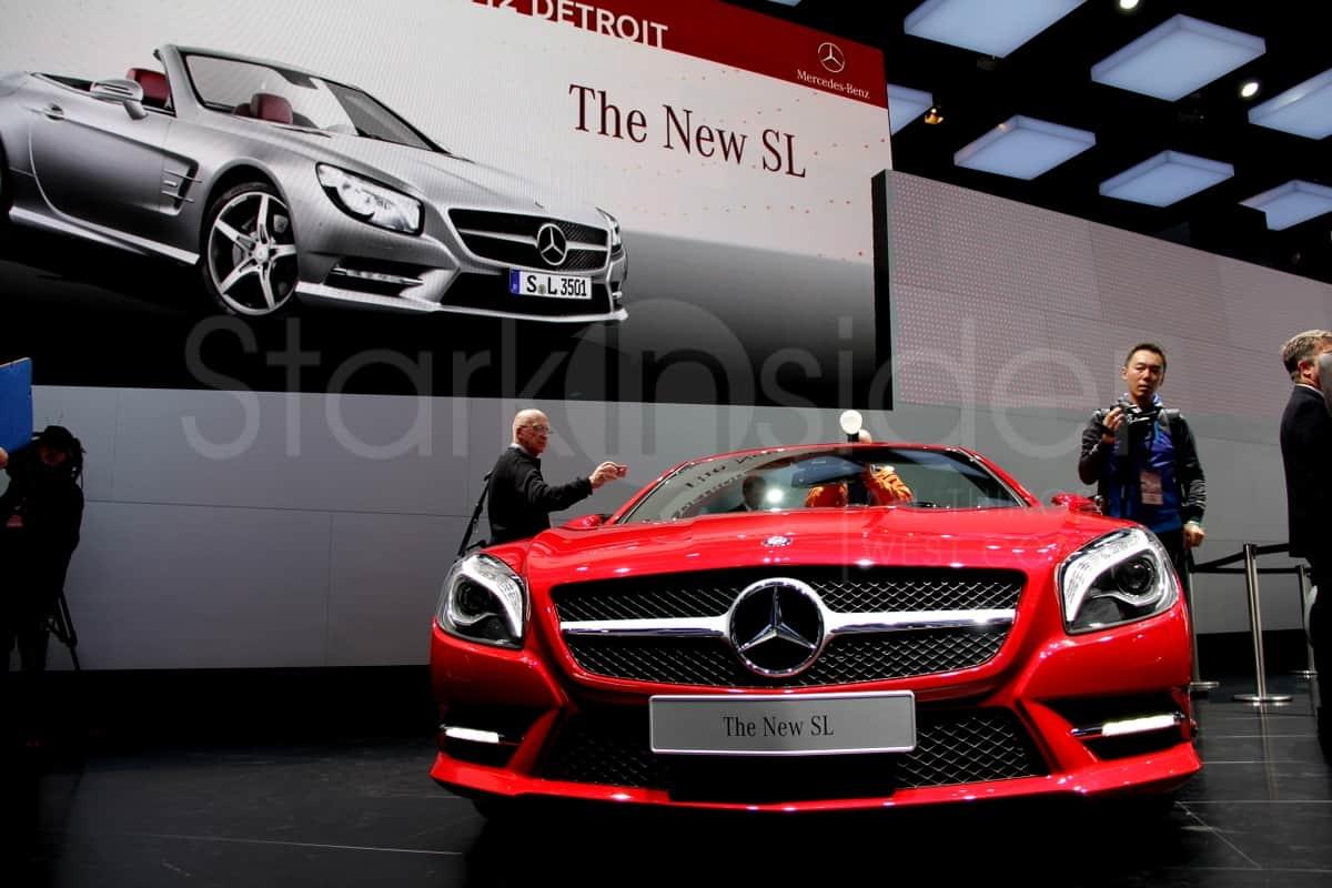 Mercedes sl class stark insider 4 stark insider for Mercedes benz car show