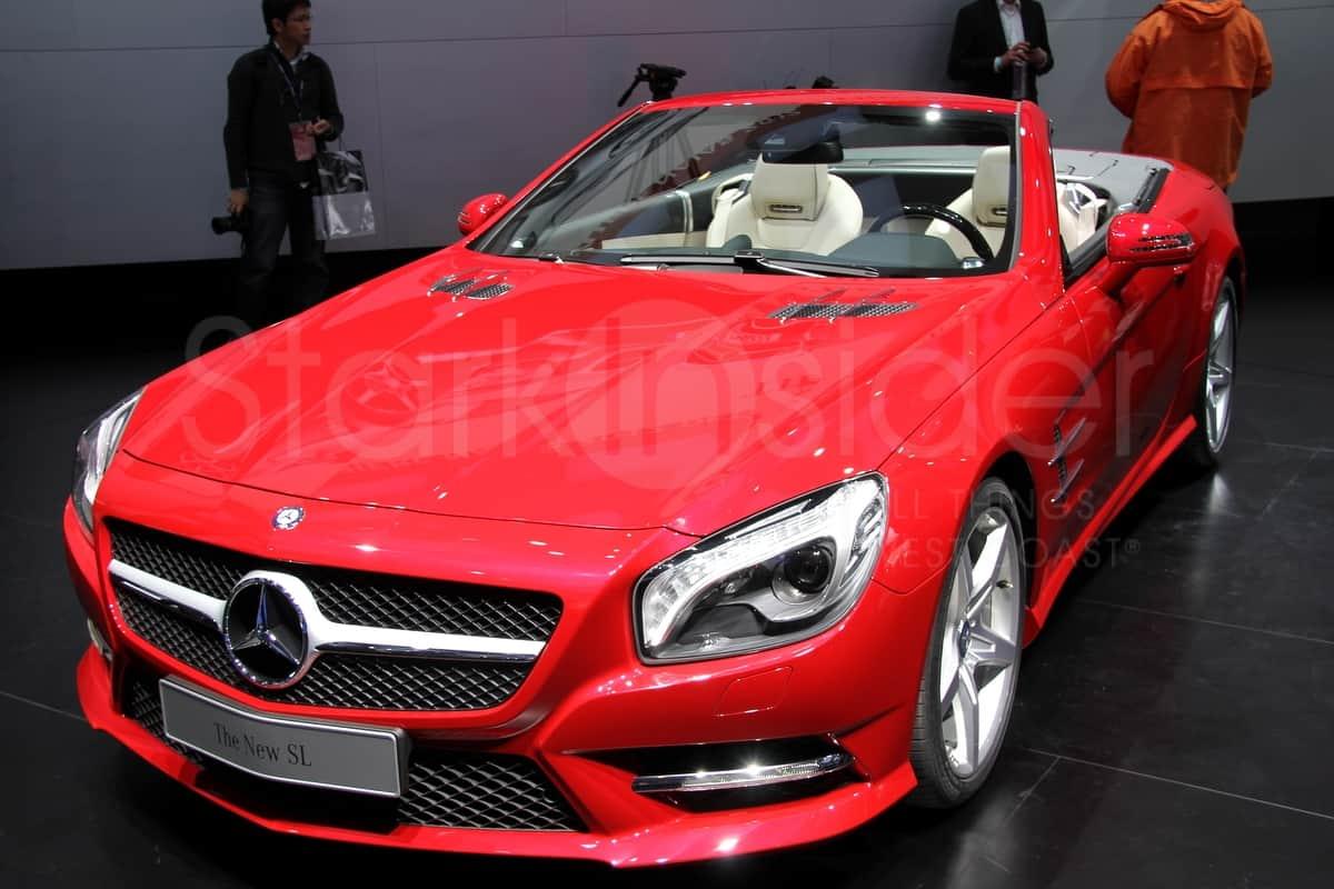 Mercedes sl class stark insider 5 stark insider for Mercedes benz car show