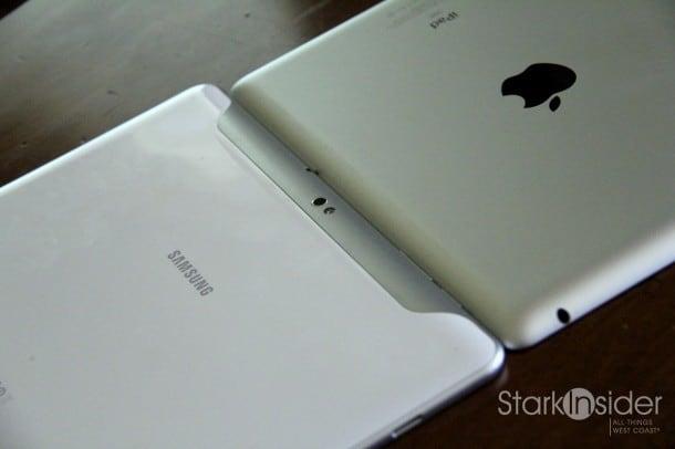 Apple iPad 2 thinness compared