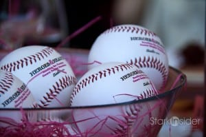 Baseballs for a cause