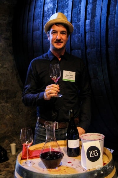 Joel Burt, Still Winemaker at Domaine Chandon - There will be blood, or drops of Pinot...