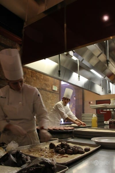 Culinary Institute of America at Greystone - kitchen