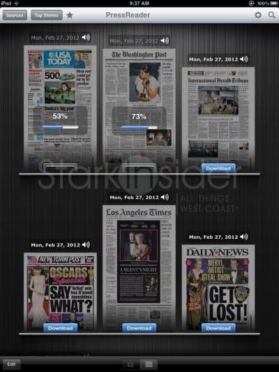 iPad, iPhone News Reader