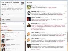 Follow San Francisco critics, theaters, trade, actors on Twitter