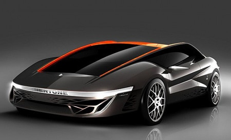 Supercar concept from Geneva Auto Show