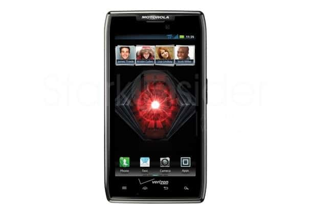 Top Android Smartphones March 2012