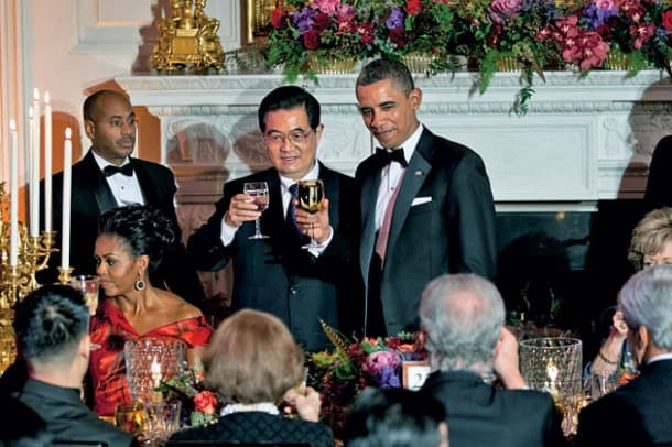 President Obama state dinner with British Prime Minister David Cameron