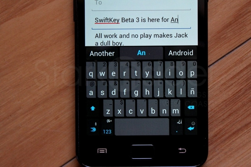 SwiftKey for Android tablets, phones (verdict: scary