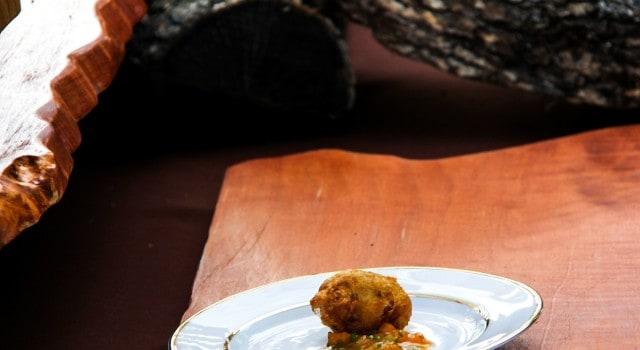 Madera's (Menlo Park) scrumptious dish was crisp, tangy perfection.