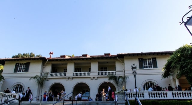 The historic villa at Montalvo turned 100 this year.
