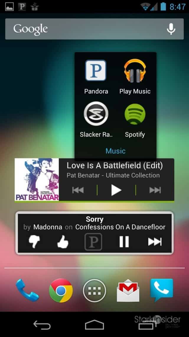 Let the Android Music Play: Spotify vs  Pandora | Stark Insider
