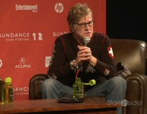 Robert Redford kicks-off the 12th annual Sundance Film Festival.