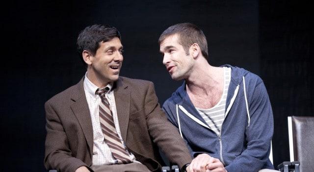 Mickey Marcus (Michael Berresse, left) and Craig Donner (Tom Berklund).