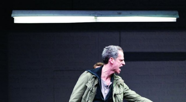 Ned Weeks (Patrick Breen, right) and Mickey Marcus (Michael Berresse) in The Normal Heart—playing at the American Conservatory Theater September 13–October 7, 2012.