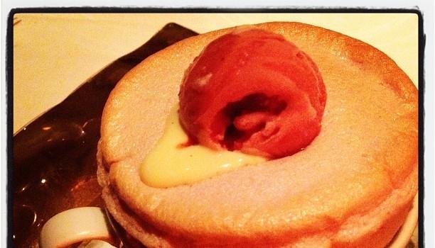 Strawberry souffle. Wowza.