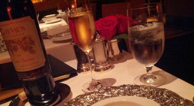 Our evening at Restaurant Gary Danko begins.