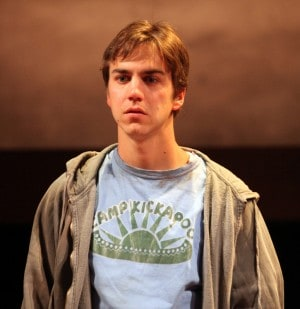 Daniel Petzold as Joey in the world premiere of Anna Ziegler's Another Way Home at Magic Theatre.