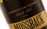 Mossback 2009 Chaulk Hill Cabernet Sauvignon - Wine Review
