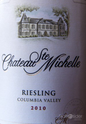 Chateau Ste Michelle Riesling - Wine Review