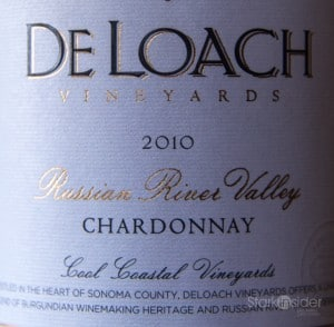 DeLoach Russian River Valley Sonoma - Wine Review