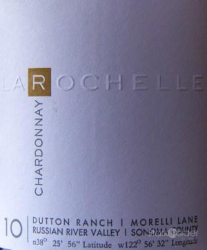 La Rochelle Chardonnay Dutton Ranch Russian River Valley