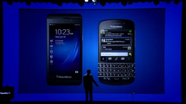 Is good enough, good enough? BlackBerry CEO Thornsten Heins unveils the Z10 and Q10 smartphones.