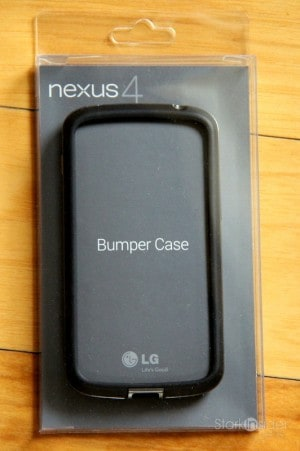 Google's official Nexus 4 Bumper Case is well engineered. In the end I flipped it. I'm an oil man!