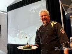 Guy Fieri at Pebble Beach Food & Wine with Loni Stark