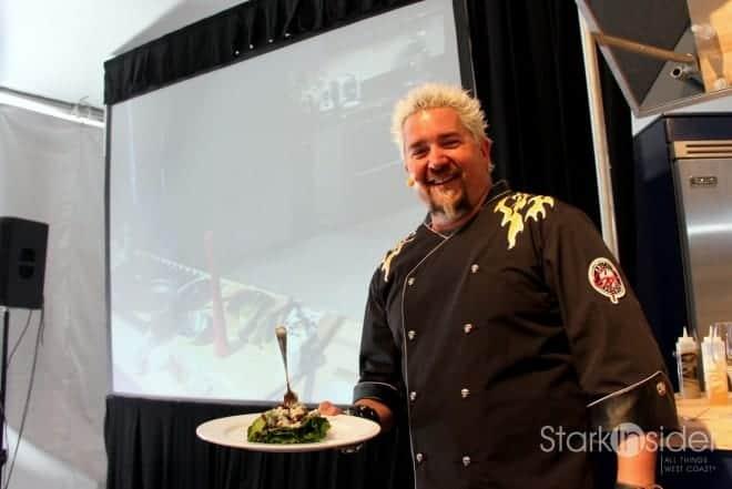 Guy Fieri at Pebble Beach Food & Wine with Loni Stark