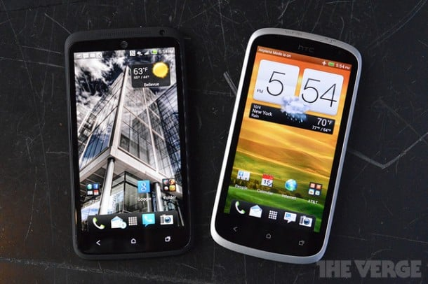 HTC One X+ features a soft-touch finish, and ships with Android Jelly Bean. Google Now is one of my favorite features.