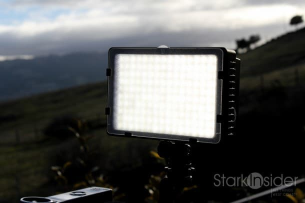 Neewer LED Light Panel for Canon and Nikon DSLR Cameras