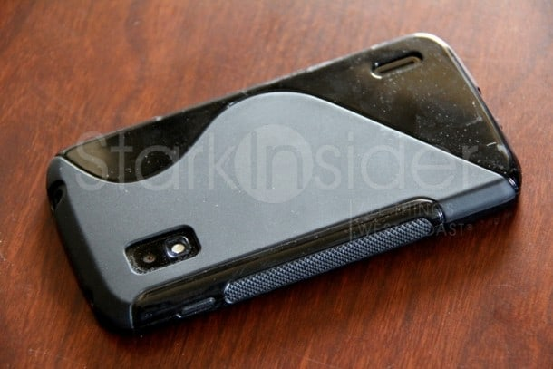 Cimos S-Line case for the Nexus 4: My daily driver. Trust me, it doesn't look this dusty in person, I swear!