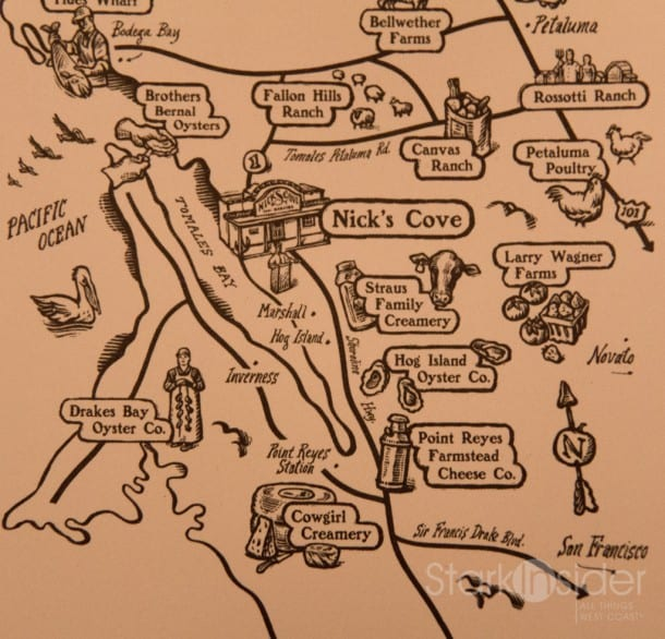 Nick's Cove Map and Directions