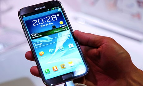 Samsung Galaxy Note II: Proof that bigger is better.