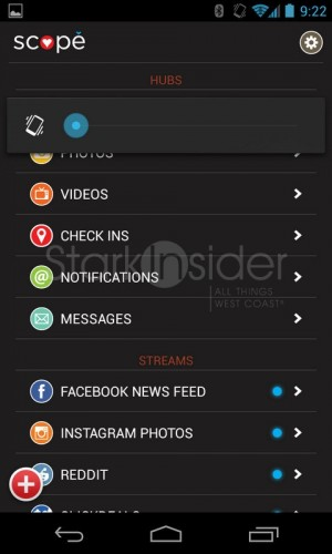 Android App of the Day: Scope Beta for Twitter, Facebook, Instagram