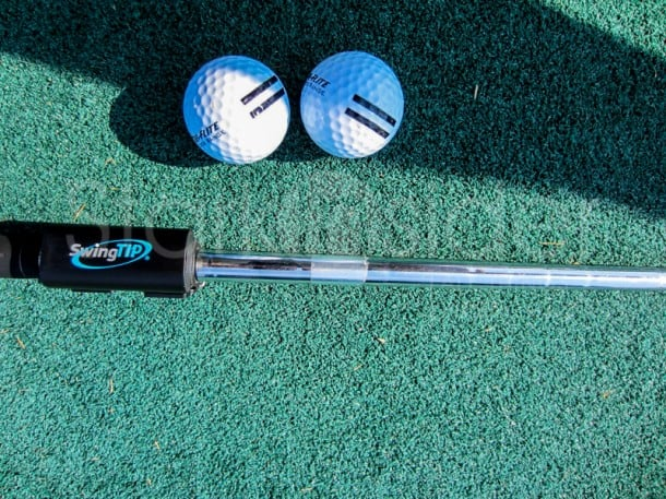 SwingTIP: It's never too early in the season to work on your game. We found the app and the included hardware sensor (seen above) incredibly useful in measuring swing adjustments.