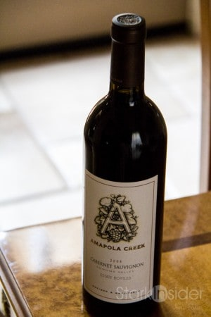 Amapola Creek 2008 Cabernet Sauvignon - Wine Review