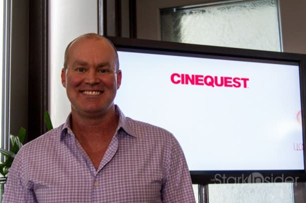 CInequest Festival co-founder Halfdan Hussey gave the media a sneak peek at the 33rd edition of the festival at the Silicon Valley Capital Club.