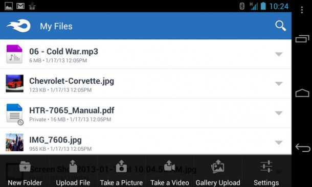 Mediafire Android App