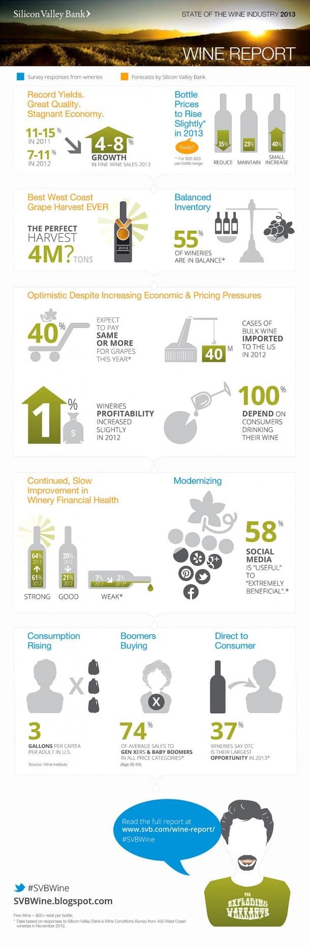 Infographic: State of the Wine Industry 2013