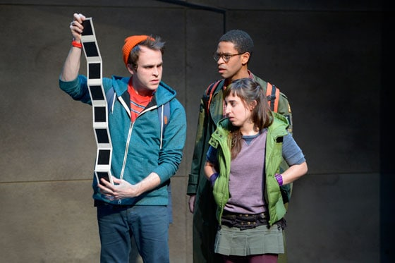 At Berkeley Rep, Gabriel King, Chad Goodridge and Jeanna Phillips star in the world premiere of Troublemaker, or The Freakin Kick-A Adventures of Bradley Boatright.