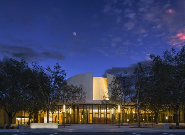 Bing Concert Hall, Stanford University.