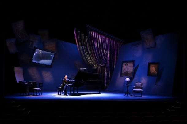 Hershey Felder plays America's favorite composer in George Gershwin Alone at Berkeley Rep.