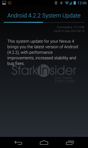 Android 4.2.2. Update - Nexus 4