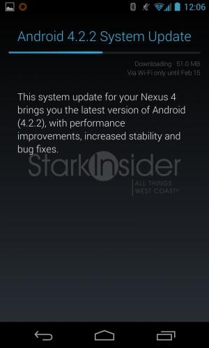 Android 4.2.2. Update - Nexus 4